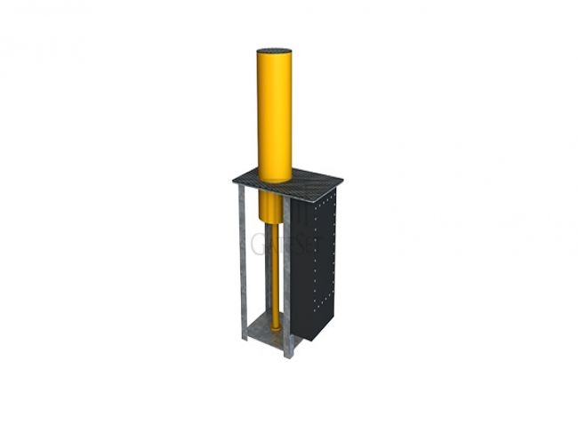 vehicle access control, hydraulic rising bollards dealers india